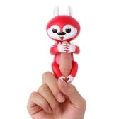 4 Colors Finger Fingerlings Squirrel Interactive Electronic Fingertip Robot Pet Toy Smart Monkey Sensor Induction Christmas Gift for Kids