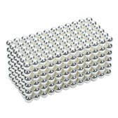 3 mm DIY Magnetic Beats Magic Balls Puzzle Set 432 Pieces Silver