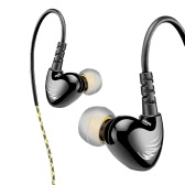 W1 In- Ear Wired Headphone with Mic Black