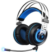 SADES A7 3.5mm Gaming Headset Black with Blue