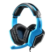 SADES SA-920 Gaming Headphone with Mic 3.5mm Over Ear Stereo Gaming Headset Music Earphone for Desktop Notebook Laptop