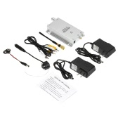 Mini Wireless TV System Nanny Micro Camera Transmitter Hidden Pinhole Mic w/ AV Receiver