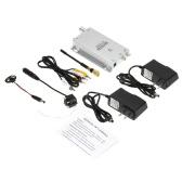 Mini Wireless TV System Nanny Micro Camera Transmitter Hidden Pinhole Mic w/ AV Receiver