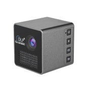 Ultramini DLP Projector Portable 1080P HD Beamer Throw 70-inch Screen 64G TF Card