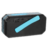 Outdoor Bluetooth Speaker Waterproof IPX6 Bass Speaker TF Card USB FM Radio AUX Hands-free Call