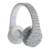 Foldable Wireless Bluetooth Stereo Headset Handsfree Headphones Mic for iPhone iPad PC Black