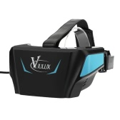 VIULUX V1 VR Headset Virtual Reality Glasses Display VR Game 3D Movie 1080P 5.5inch OLED Display Screen Head-Mounted w/HD USB Cable for Computer Notebook