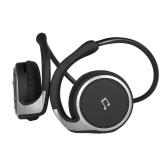 Wireless Bluetooth 4.1 Headset Smart Sports Headphone Stereo Music Earphone CVC6.0 FM Radio TF Card Music Playing w/Storage Bag