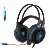 SADES SA936 Gaming Headset with Microphone LED Light