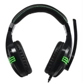Salar KX101 Gaming Headphones Over-Ear Stereo Gaming Headsets Noise Cancellation -Black
