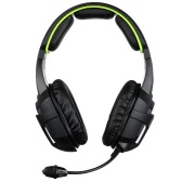 SADES SA-807 3.5mm Gaming Headsets with Microphone Noise Cancellation Music Headphones Black-green for PS4 Laptop Tablet PC Mobile Phones