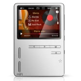 ONN X6 HIFI Music Player High-fidelity Audio Player 24 Bit Loseless Muisc MP3 Media Player Bass Speaker FM Radio Voice Recorder Silver