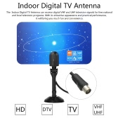 Indoor Digital TV Antenna PAL Standard 1080p Analog VHF / UHF Digital Signal IEC Connector for HDTV / DTV Only for Vietnam Malaysia Singapore Indonesia Thailand