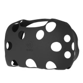 1 Pcs Soft-touch Silicone Rubber Case for HTC VIVE VR  Virtual Reality Headset Black