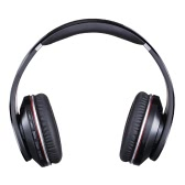 S750 Wireless Noise Reduction Stereo Headphone Bluetooth Earphones Over-ear Headband Headsets FM Radio 3.5mm Audio Wired TF Card MP3 Player Hands-free Calls Built-in Microphone for iOS Android Smart Phones Tablets PC Laptops