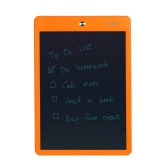 COOLXO 10Inch LCD Writing Tablet e-Writing Board Handwriting Drawing for Kids Home Business Use Orange