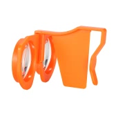 Foldable Virtual Reality Glasses 3D VR Glasses- Orange