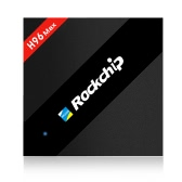H96 MAX Smart Android 6.0 Caja de TV Rockchip RK3399 4G / 32G US enchufe