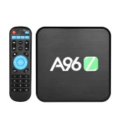 A96Z Smart Android 6.0 TV Box S905X Quad-Core 2GB / 16GB 64 Bit UHD 4K 3D VP9 H.265 Mini PC 2.4G/5.8G WiFi DLNA Bluetooth 4.0 HD Media Player US Plug Black