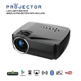 GP70UP LED Projector Android TV Box 800LM 800 * 480 Resolution 2.4G & 5G WiFi Bluetooth 4.0 -UK Plug
