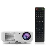 "RD-804 Full Color 150"" LED Projector 2500 Lumens 1080P 1300:1  HDMI VGA AV USB-UK Plug"