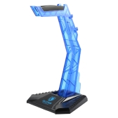 SADES Gaming Headphone Stand Earphone Holder Professional display rack Headset Hanger Bracket Blue for Sony AKG Sennheiser Logitech Kotion Each other headsets