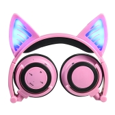 LX-BL108 Wireless Bluetooth Glowing Cat Ear Headset