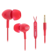 FONSON In Ear 3.5mm Stereo Music Bass Headphones Earphone Headset Earpiece with In-line Control Microphone for iPhone 6s plus Samsung Galaxy Mp3/4 Player PC Laptop