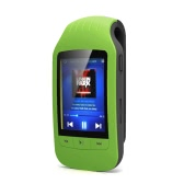 HOTT A505 8GB MP3 / MP4 Player Stereo Music Player Support Sport Pedometer Bluetooth Function FM Radio w/ TF Card Slot 1.8 Inches LCD Screen Clip Green