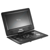 GKN-101 10. 1 Inches DVD Player Portatil 16:9 TFT Screen Pixe 1024 * 600 Support SD / USB / AV for Gamepad TV DVD / CD / MP3