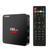 SCISHION V88 mini elegante Android 6.0 TV Box Rockchip 3229 1G / 8G enchufe EE.UU.