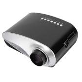 MINI LED Projector 120 lms 480x320 Pixels  HD VGA USB AV support 1080P -EU Plug