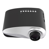 MINI LED Projector 120 lms 480x320 Pixels  HD VGA USB AV support 1080P -EU Plug
