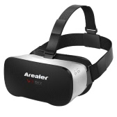 Arealer VR SKY All-in-one Machine Virtual Reality Headset 3D Glasses 1080p 5.5Inch TFT Display Screen 100°FOV Supports 70Hz FPS 2D / 3D / Panorama / Three-dimensional Immersive WiFi Bluetooth 4.0 w /USB port TF Card Slot EU Plug