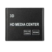K7 HD Media Player Box F10 Chip Full HD 1080p 3D Video Audio with USB SD AV HDMI Port EU Plug