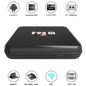 T96R Smart Android 5.1 TV Box RK3229 Quad Core 32bit H.265 HEVC UHD 4K VP9 Mini PC LAN WiFi DLNA Airplay Miracast Media Player US Plug