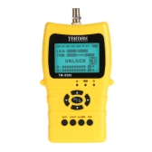 TRIMAX TM-8500 for Satellite Signal Finder Meter DVB-S/S2 HD Digital for Satellite TV Finder LCD Dispaly 1400mAh Battery EU Plug