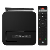 Zidoo X8 Smart Android TV Box Android 6.0 OpenWRT(NAS) Realtek RTD1295 Quad Core 2G / 8G H.265 UHD 4K VP9 2.4G / 5G WiFi 1000Mbps LAN KODI HDR USB3.0 HD IN Bluetooth 4.0 HD Media Player EU Plug