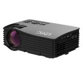 UNIC UC36 LED Projector 1000 Lumens 640 * 480 Pixels HD, AV, USB, SD - Black US Plug