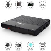 Docooler R39 Pro Amlogic S912  TV Box Octa Core KODI 17.0  Fully Loaded 4K VP9 3D WiFi AirPlay Miracast DLNA -EU Plug
