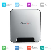 Cenovo MINIPCS Windows 10 Mini PC Intel Cherry Trail Z8350 64 Bits 4GB / 64GB UHD 4K H.265 Bluetooth 4.0 WiFi & 1000M LAN Smart TV Box Intelligent Media Player No Activated US Plug