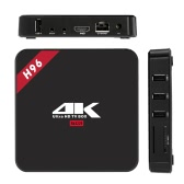 H96 Android 6.0 TV Box RK3229 Quad Core 32Bit H.265 UHD 4K VP9 3D Mini PC WiFi US Plug