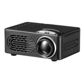 RD-814 Portable LED Projector Home Cinema Theater 1080P Black EU Plug