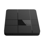 Wechip V8 Smart Android 7.1.2 TV Box Amlogic S905W Quad Core H.265 VP9 HDR10 2GB / 16GB DLNA WiFi LAN HD Media Player EU Plug