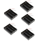 5pcs Battery Storage Case Box Holder for 3×18650 Series Lithium Battery