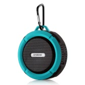 Andoer 5W Wireless Bluetooth 3.0 Outdoor Stereo Speaker Soundbox Speakerphone Mic Hands-free Water Resistant Shockproof Dustproof Outdoor Travel Portable