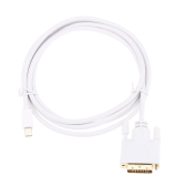 6Ft / 1.8m Mini Display Port DP (Male) to DVI-D (Male) Converter Adapter Cable for MacBook MacBook Pro MacBook Air