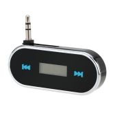 Portable Mini Wireless 3.5mm Car Audio Radio LED Dispaly FM Transmitter Modulator Adapter for iPhone iPad iPod Samsung