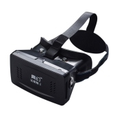 "Best-selling Private 3D Glasses Google Cardboard Head-mounted 3D VR Glasses Virtual Reality DIY 3D VR Video with Magnetic Switch Movie Game 3D Glasses with CSY-01 Mini Multifunctional Wireless Bluetooth V3.0 Selfie Camera Shutter Gamepad for iPhone Samsung / All 3.5 ~ 6.0"" Smart Phones"
