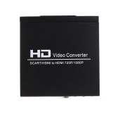 Hot-selling SCART + HD to HD Converter Full HD 1080P Digital High Definition Video Converter Adapter for HDTV HD Projector